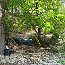 Float trip shoreline hammock. by BiskitznGravy in Hammocks