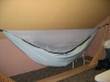 hammock with sock and net attached