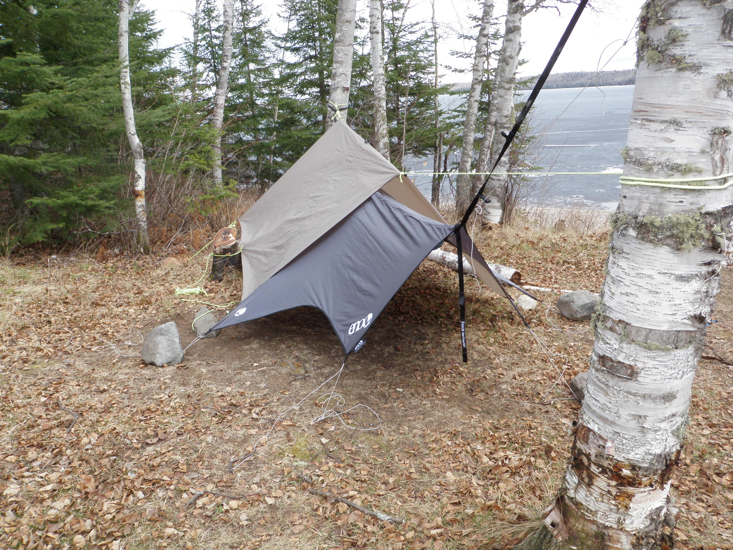 Eno Rain Fly With A Mec Scout Hammock Forums Gallery