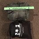 Snugpak Versus HG Econ Incubator 40 in stuff sack horizontal by gandeeman60 in Underquilts and PeaPods