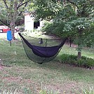 My hammock with new diy uq and 18$ bugnet