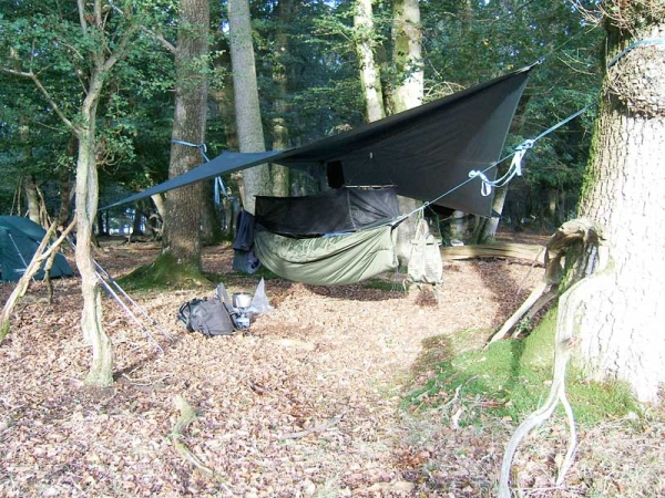 Mosquito Hammock and BCUK underblanket