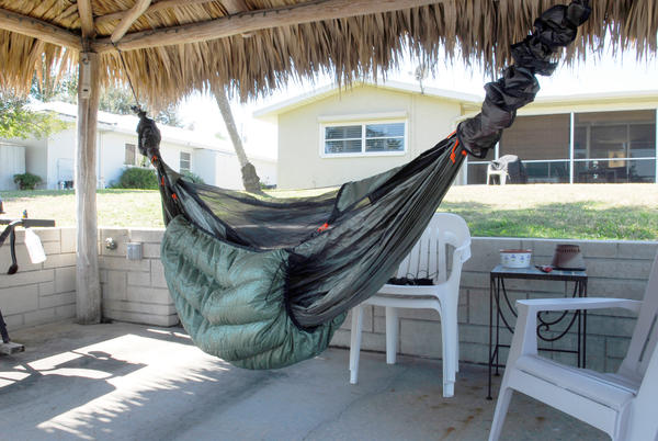 Secret Hammock Hanging Test Ground