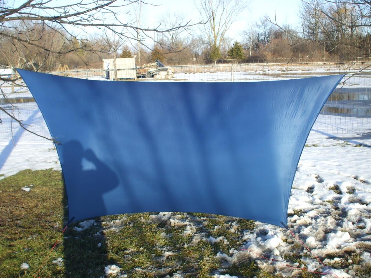 Diy Blue Tarp