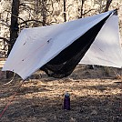 The old trusty tarp by turbogh00st in Hammocks