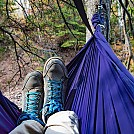 Hammock testing in Lester Park, Duluth, MN by Tinga in Hammock Landscapes