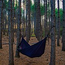 Sunset hang in Hartley Park, Duluth, MN by Tinga in Hammock Landscapes