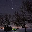Winter under the Stars by Dakota in Hammock Landscapes