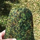 Printed Chameleon Symmetrical Moss Bugnet