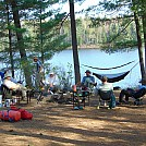 Rain lake - Algonquin Park May 2016