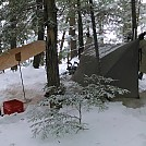Winter camping at Kawartha Highlands Provincial Park