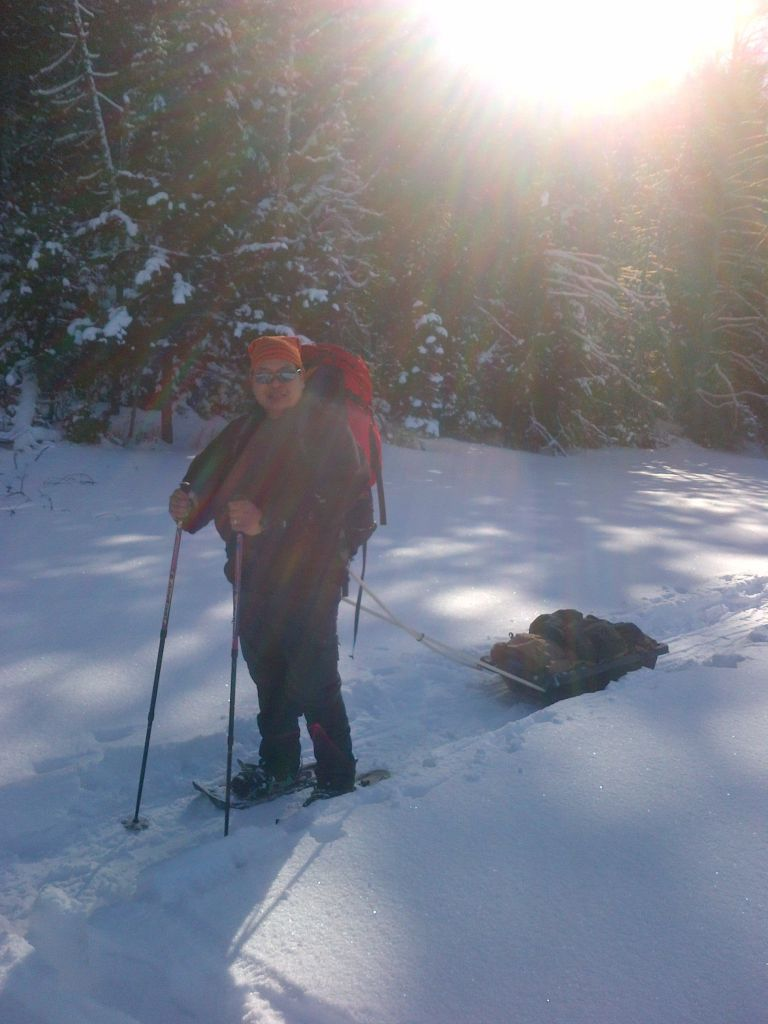 Snow Shoe Trip In Algonquin Provincial Park, Feb 2013