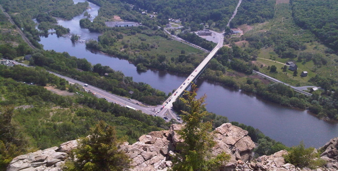 View From Top Of Lehigh Gap