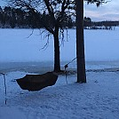 Chilly bedtime by ShayneH in Hammock Landscapes