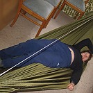 Hammock with shaped ends by hutzelbein in Homemade gear