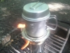 My Bushbuddy Wood Stove by SkyPainter in Faces