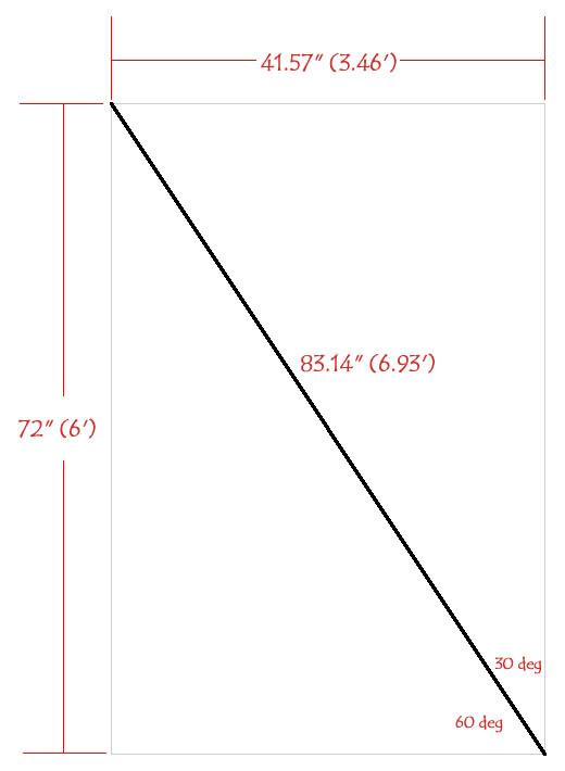 Hammock Stand Triangle 01