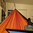 Successful Indoor Hang by CentralTexasPathfinder in Hammock Landscapes