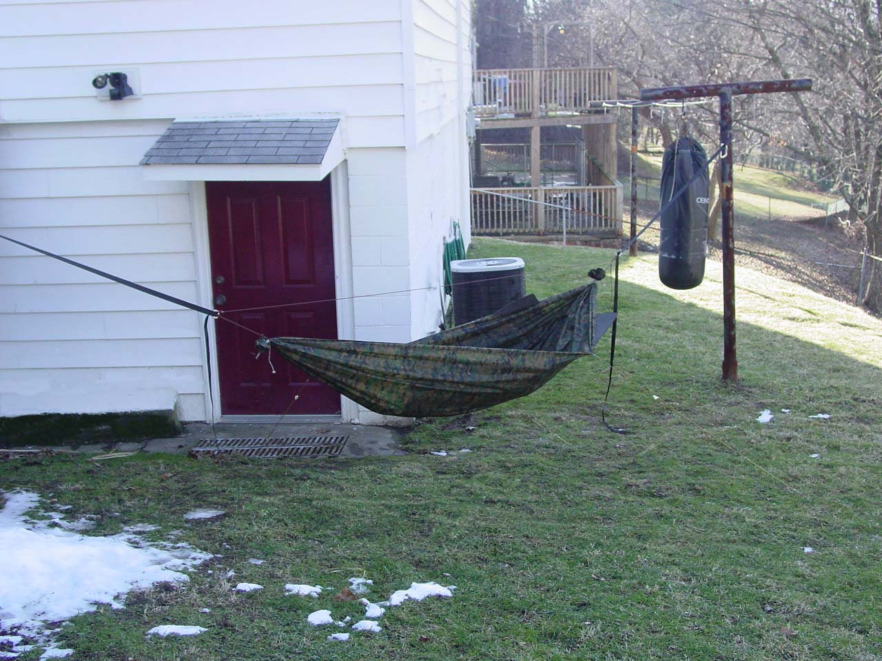 First Diy Double Layer Hammock
