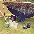 flying tent with tarp