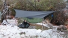 After A Snow Event In Superstition Mountains Of Az by Sarae in Tarps