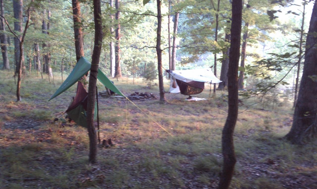 View Of Campsite