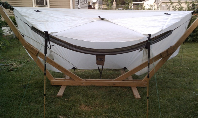 Gear Guide Tarp, Porch Mode