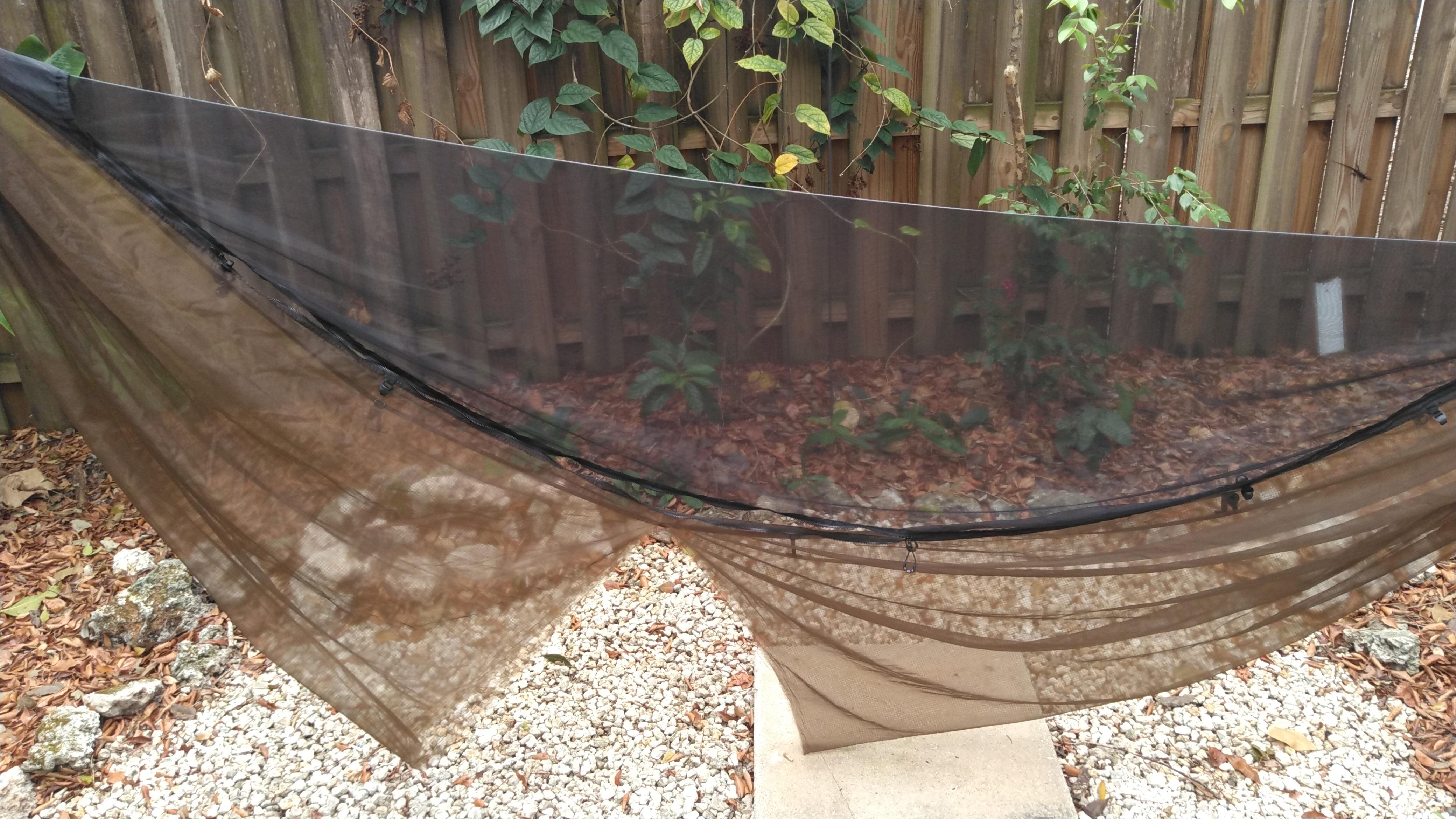Cloud hammock split