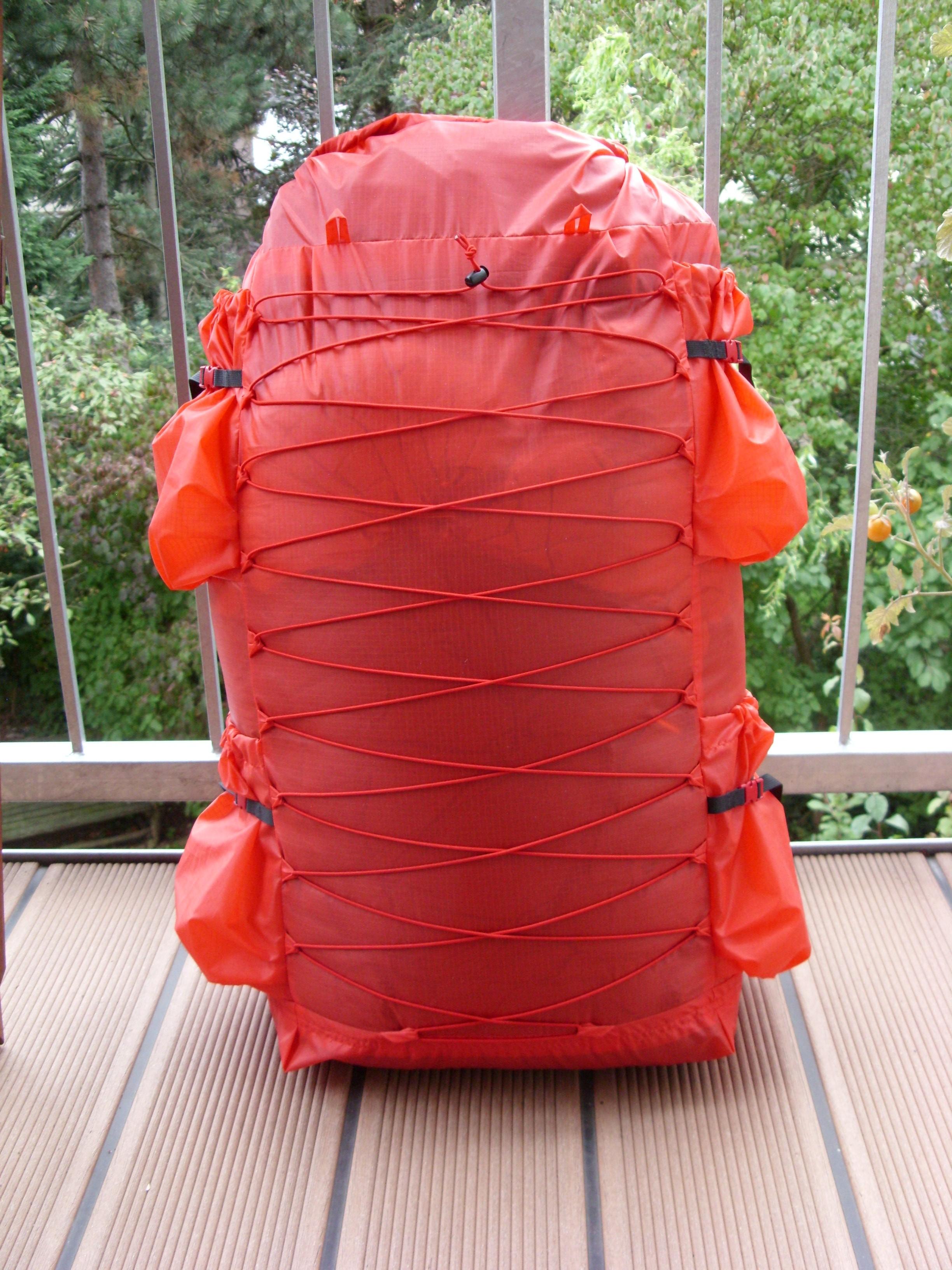 Diy Backpack 50l Volume, 65g/qm Silnylon, 200g Weight ...