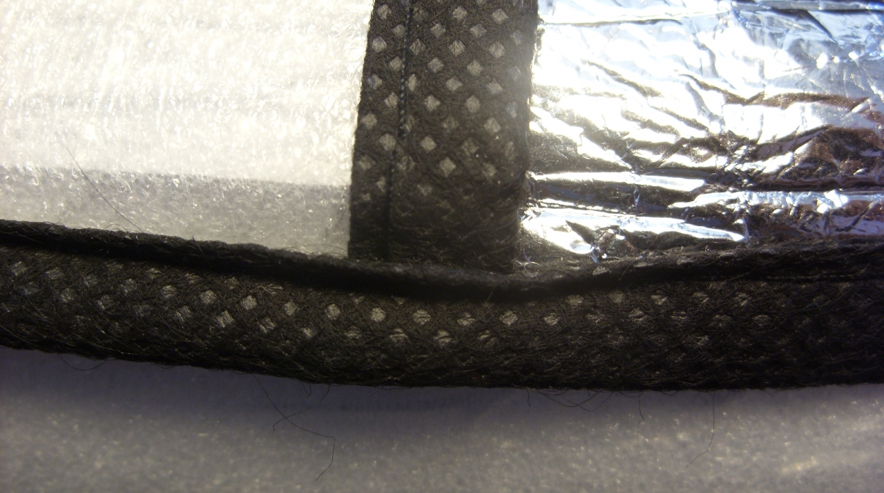 Car Sunshield As Insulation Pad