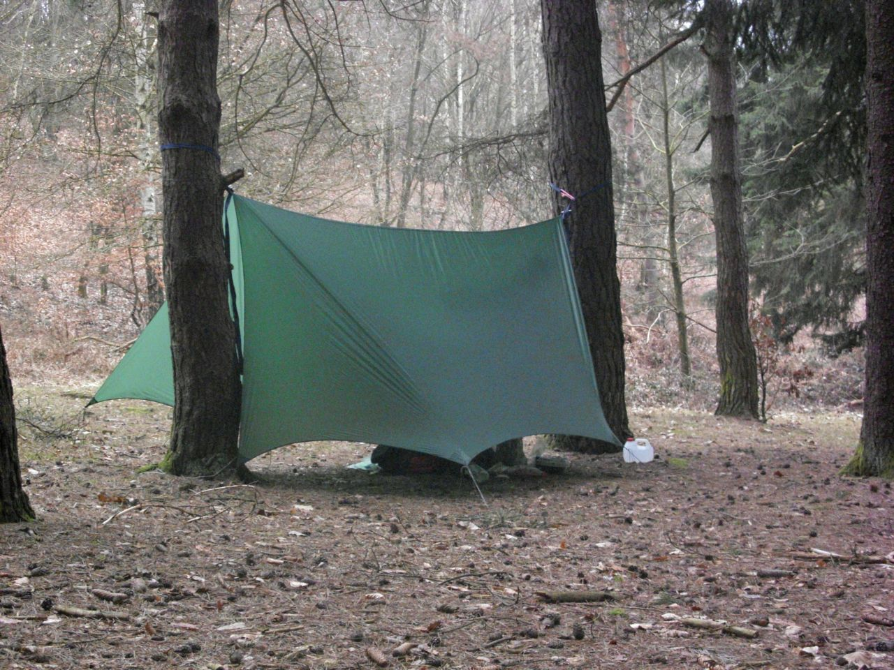 Catcut Silnylon Tarp With Doors