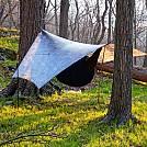 camo HG hex tarp windy pitch