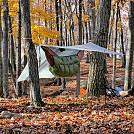Fall campsite Harriman NY