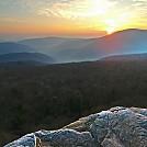 Sunrise, Giant Ledge, Catskills