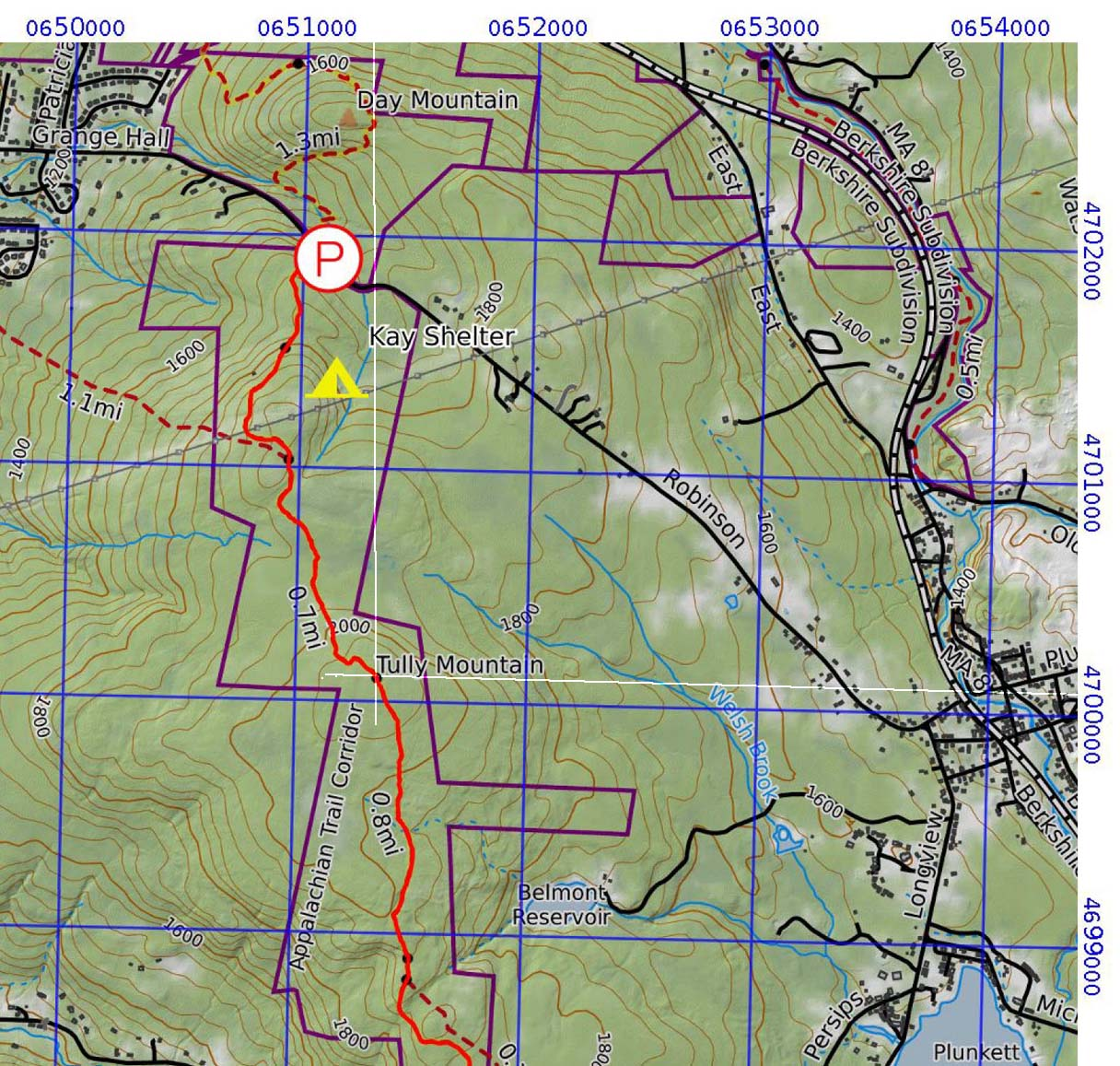 UTM Map demo