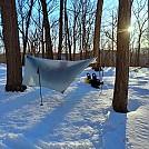 Snow Hammocking Feb 2021 01