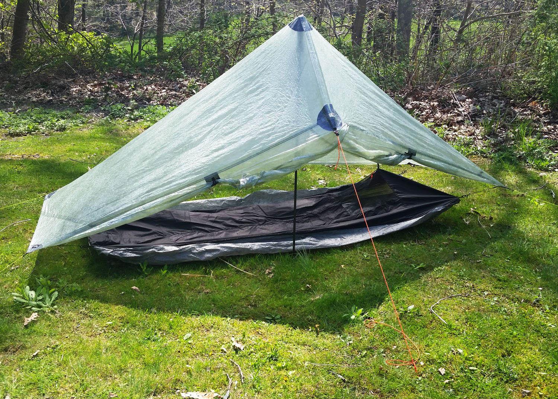 Bivy with tarp