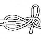 Lapp knot (slipped)
