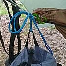 pack hanger clove hitch