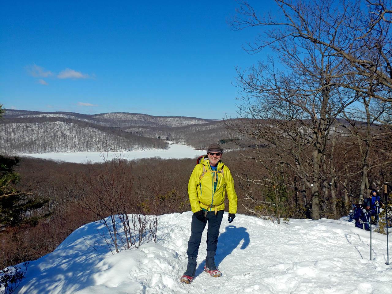 Silvermine snow hike