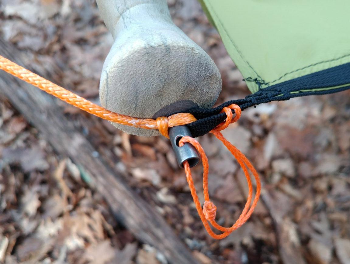 trekking pole spreader bar handle
