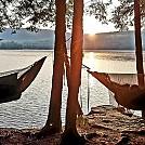 3 hammocks 1 pond by Dirtbaghiker in Hammock Landscapes