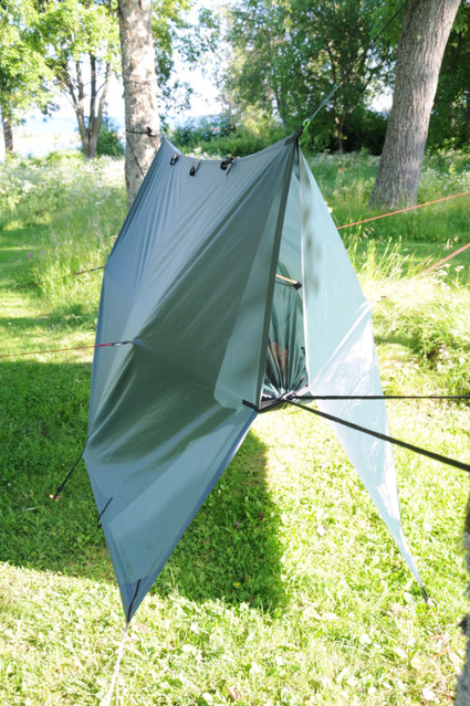 Modified Tarp From Dd Hammocks