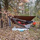 Camped near Brushy Creek by Ozarks Walkabout in Hammock Landscapes