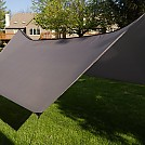 Dutchware Gear 12' Hex Tarp, Charcoal Gray