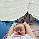 Baby takes over Draumr XL by cmc4free in Hammocks