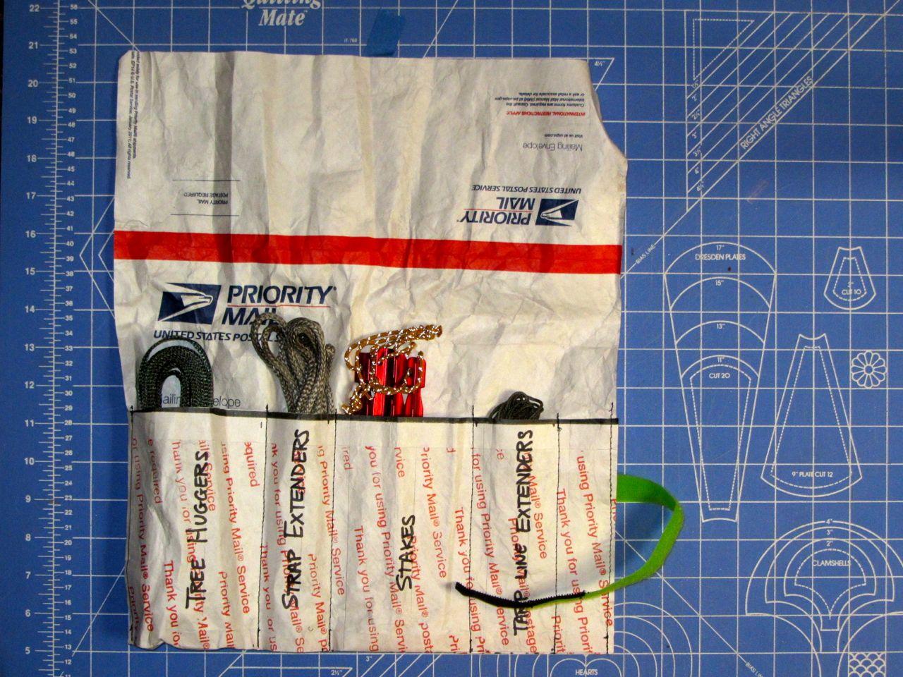Tyvek Suspension Parts Wrap