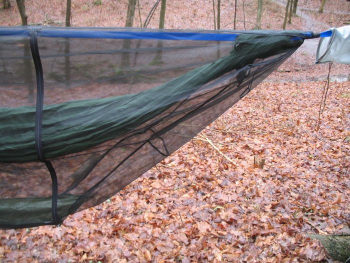 Hammock Bug Bivy Version 2 Detail