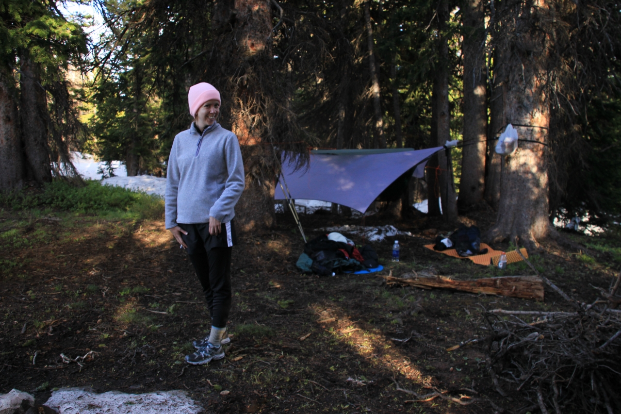 Hammocking At Medicine Bow National Forest And Encampment Trail