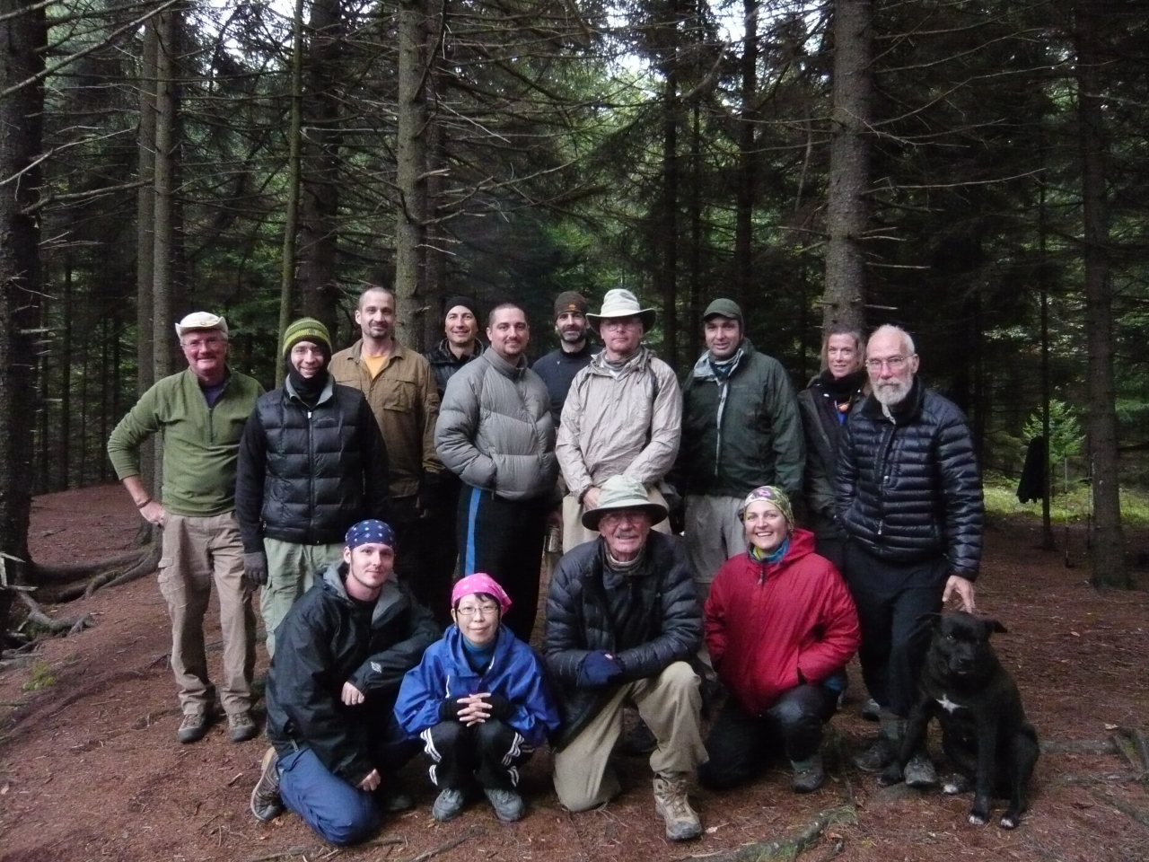 Dolly Sods, Wv Sept. 2011 Group Photo